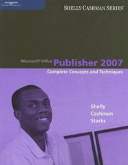 Microsoft Office Publisher 2007 1st edition 9781111797232 1111797234