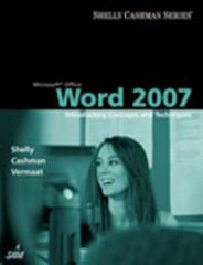 Microsoft Office Word 2007: Introductory Concepts and Techniques 1st edition 9781418843366 1418843369