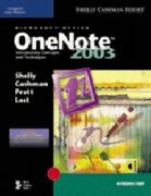 Microsoft Office OneNote 2003: Introductory Concepts and Techniques 1st edition 9780619255381 0619255382