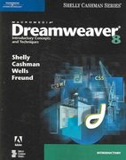 Macromedia Dreamweaver 8: Introductory Concepts and Techniques 1st edition 9781418859916 1418859915