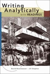 Writing Analytically with Readings 1st edition 9781413013498 141301349X