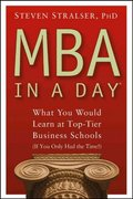 MBA In A Day 1st edition 9780471680543 0471680540