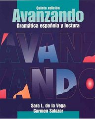 Avanzando 5th edition 9780471202868 047120286X