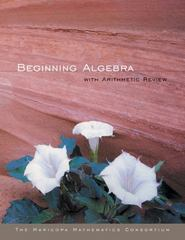 Beginning Algebra with Arithmetic Review 1st edition 9780618318834 0618318836