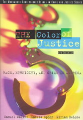 The Color of Justice 3rd Edition 9780534594992 0534594999