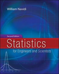 Statistics for Engineers and Scientists 2nd edition 9780073127798 0073127795