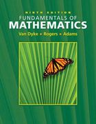 Fundamentals of Mathematics (with Interactive Video Skillbuilder CD-ROM and CengageNOW, Student Resource Center Printed Access Card) 9th edition 9780495012535 049501253X