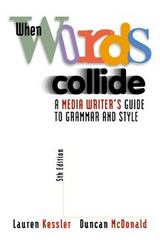 When Words Collide 5th Edition 9780534561338 0534561330