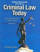 Criminal Law Today 3rd edition 9780131702912 0131702912