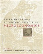 Experiments with Economic Principles: Microeconomics 2nd Edition 9780072295184 007229518X