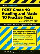 CliffsTestPrep FCAT Grade 10 Reading and Math 1st edition 9780764599330 076459933X