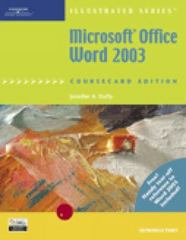 Microsoft Office Word 2003, Illustrated Introductory, CourseCard Edition 1st edition 9781418843014 1418843016