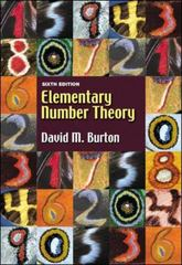 Elementary Number Theory 6th edition 9780073051888 0073051888