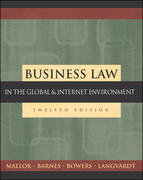 Business Law 12th Edition 9780072860955 0072860952