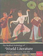 The Bedford Anthology of World Literature Books Four, Five, and Six 1st edition 9780312404826 0312404824