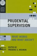 Prudential Supervision 0 9780226531885 0226531880