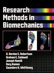 Research Methods in Biomechanics 1st edition 9780736039666 073603966X