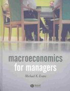 Macroeconomics for Managers 1st edition 9781405101448 140510144X