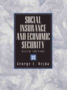 Social Insurance and Economic Security 6th edition 9780130204417 0130204412