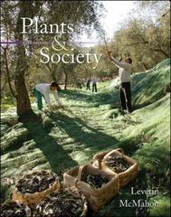 Plants and Society 5th edition 9780077221256 0077221257
