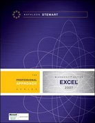 Microsoft Excel 2007: A Professional Approach 1st edition 9780077248024 0077248023