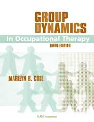 Group Dynamics in Occupational Therapy 3rd edition 9781556426872 1556426879