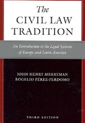 The Civil Law Tradition 3rd Edition 9780804755696 0804755698