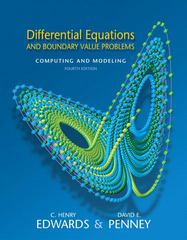 Differential Equations and Boundary Value Problems 4th edition 9780131561076 0131561073