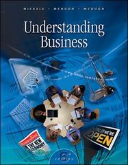 Understanding Business 6th edition 9780072320541 0072320540