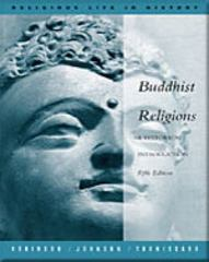 Buddhist Religions 5th edition 9780534558581 0534558585