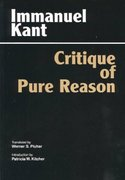 The Critique of Pure Reason 0 9780872202573 0872202577