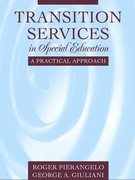 Transition Services in Special Education 1st edition 9780205345694 0205345697