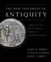 New Testament in Antiquity 1st Edition 9780310244950 0310244951