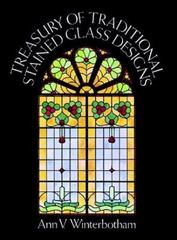 Treasury of Traditional Stained Glass Designs 0 9780486240848 0486240843