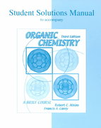 Solutions Manual to accompany Organic Chemistry 3rd edition 9780072319453 0072319453