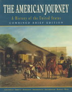 The American Journey 1st edition 9780136566533 0136566537