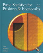 Basic Statistics for Business and Economics 4th edition 9780072819823 0072819820