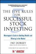 The Five Rules for Successful Stock Investing 1st Edition 9780471686170 0471686174