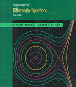 Fundamentals of Differential Equations 3rd edition 9780805350562 080535056X