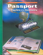 Passport to Algebra and Geometry, Grade 8 1st Edition 9780395879887 0395879884