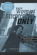 Women Entrepreneurs Only 1st edition 9780471324393 0471324396