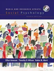 Social Psychology, Media and Research Update 4th edition 9780131830929 0131830929