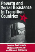 Poverty and Social Assistance in Transition Countries 1st Edition 9781137047533 1137047534