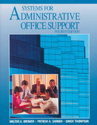 Systems for Administrative Office Support 4th edition 9780028010250 0028010256