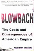 Blowback 1st edition 9780805062397 0805062394