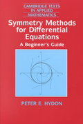 Symmetry Methods for Differential Equations 0 9780521497862 0521497868