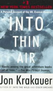 Into Thin Air 1st Edition 9780385492089 0385492081