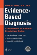 Evidence-Based Diagnosis 1st edition 9780387950259 0387950257