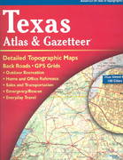 Texas Atlas and Gazetteer 3rd edition 9780899333205 0899333206