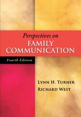 Perspectives on Family Communication 4th Edition 9780073406824 0073406821